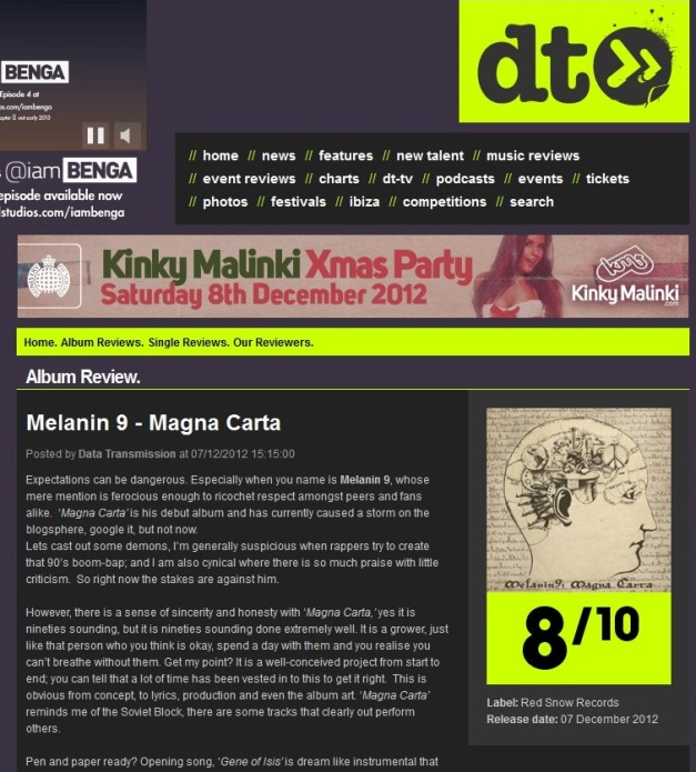 MagnaCarta-Dataransmission