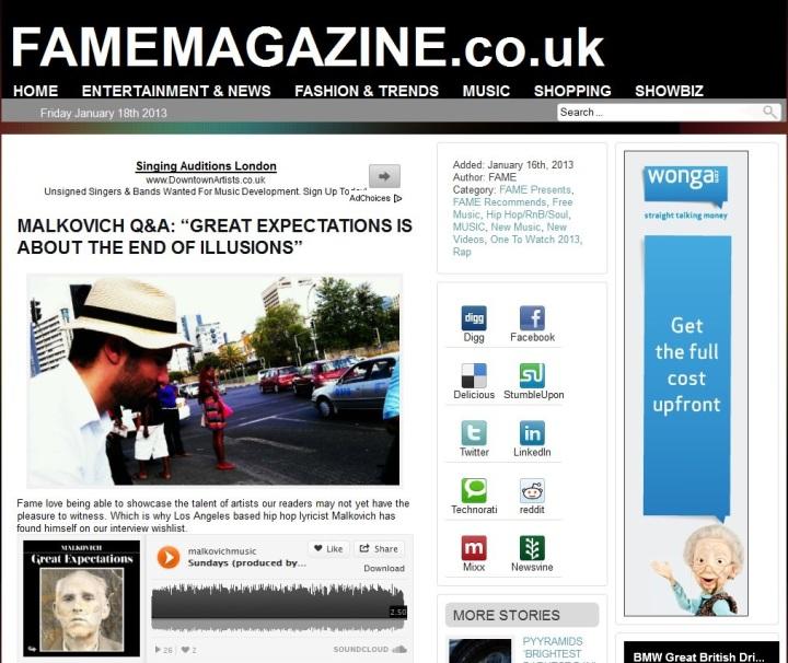 FameMagazine
