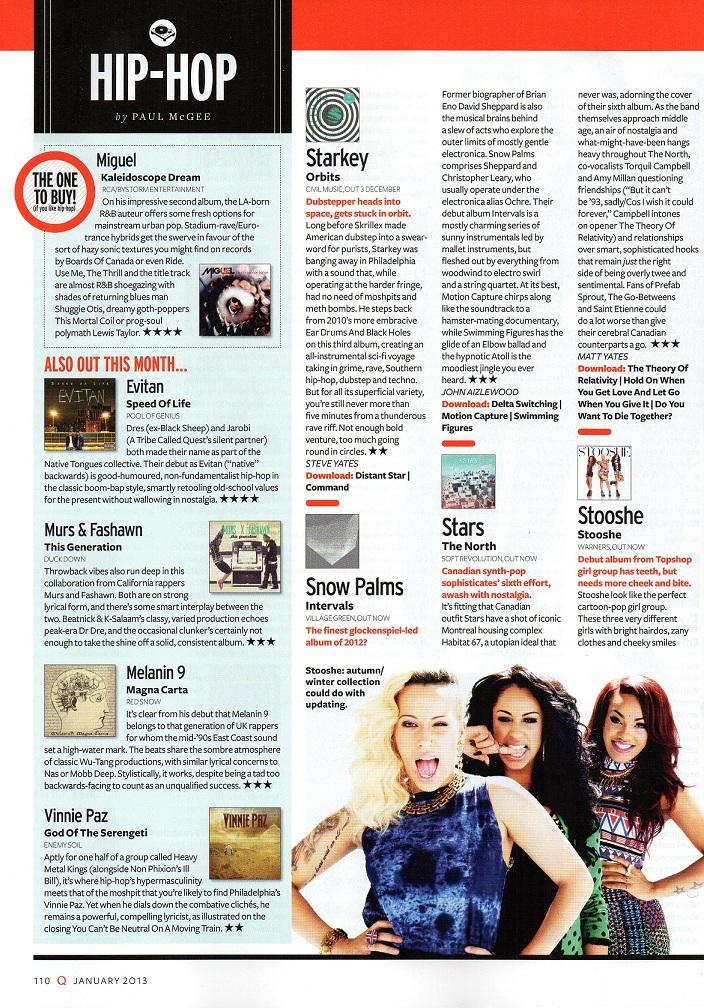 Q Magazine Review Melanin 9 album \u201cMagna Carta\u201d \u2013 UrbanElite