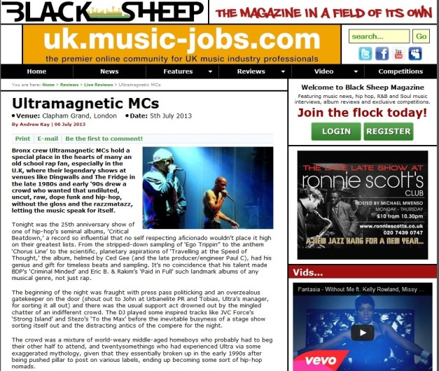 BlacksheepLiveReview
