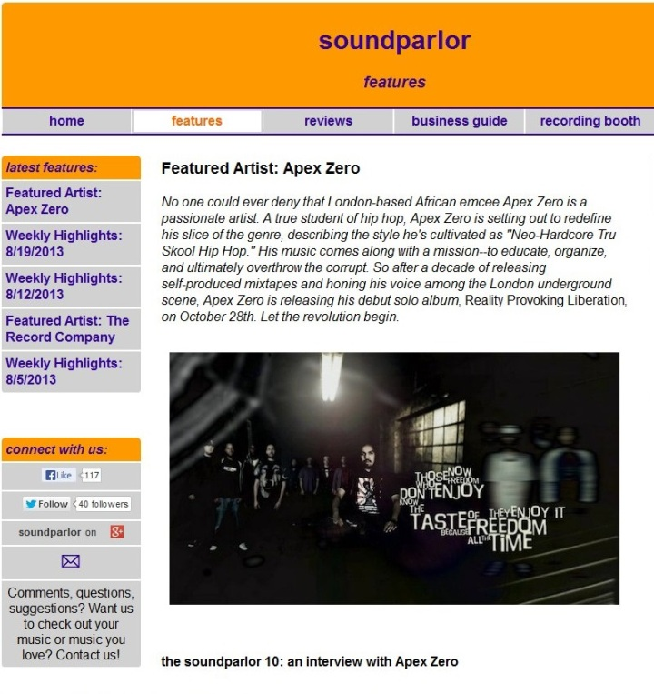 RPL-SoundparlorInterview