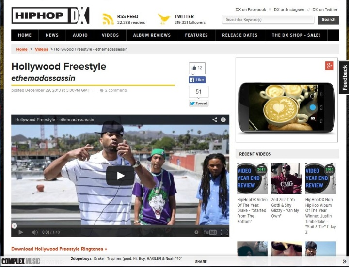 HIPHOPDX-freestyle