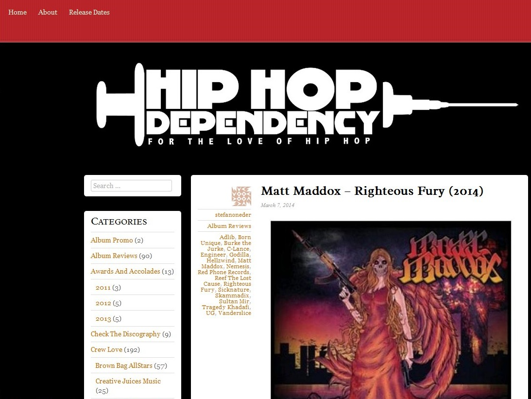 RighteousFury-HipHopDependency