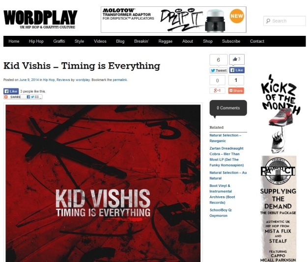 TimingIsEverything-WordplayMagazinereview