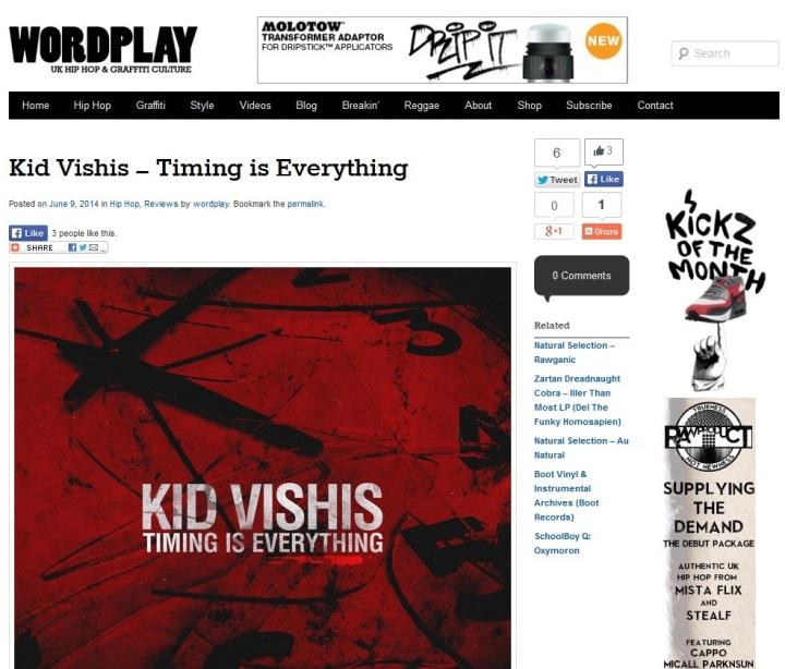 TimingIsEverything-WordplayMagazinereview