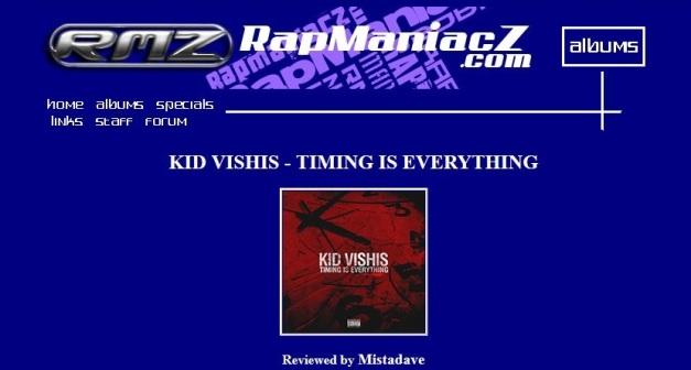 TimingIsEverything-RapManiacz