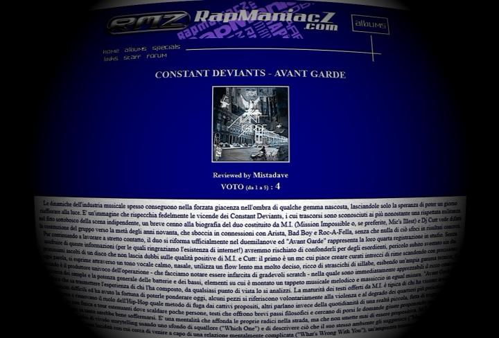 CD-RapManiacza