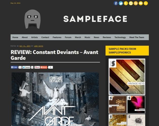 CD-Sampleface