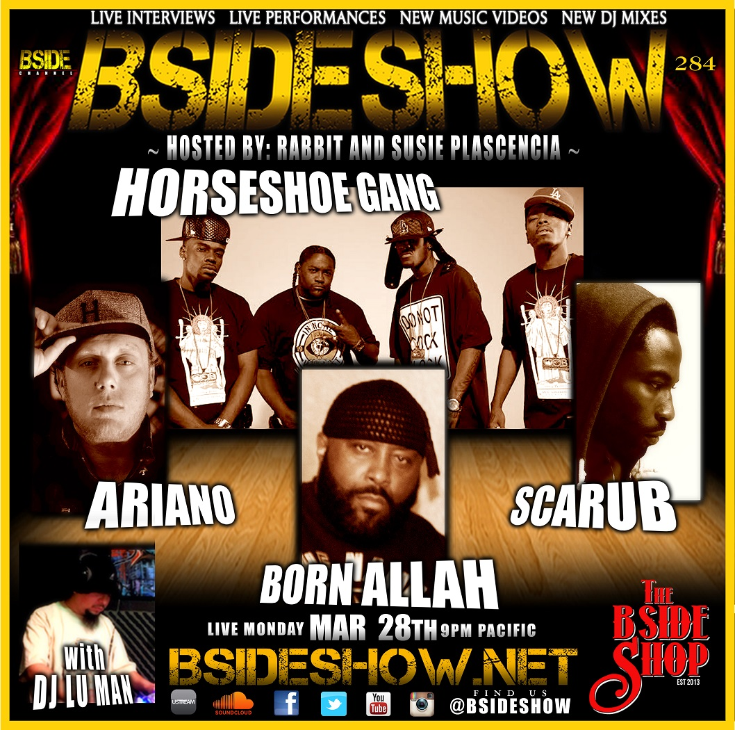 BSIDESHOW-HORSESHOEGANG-28MARCH